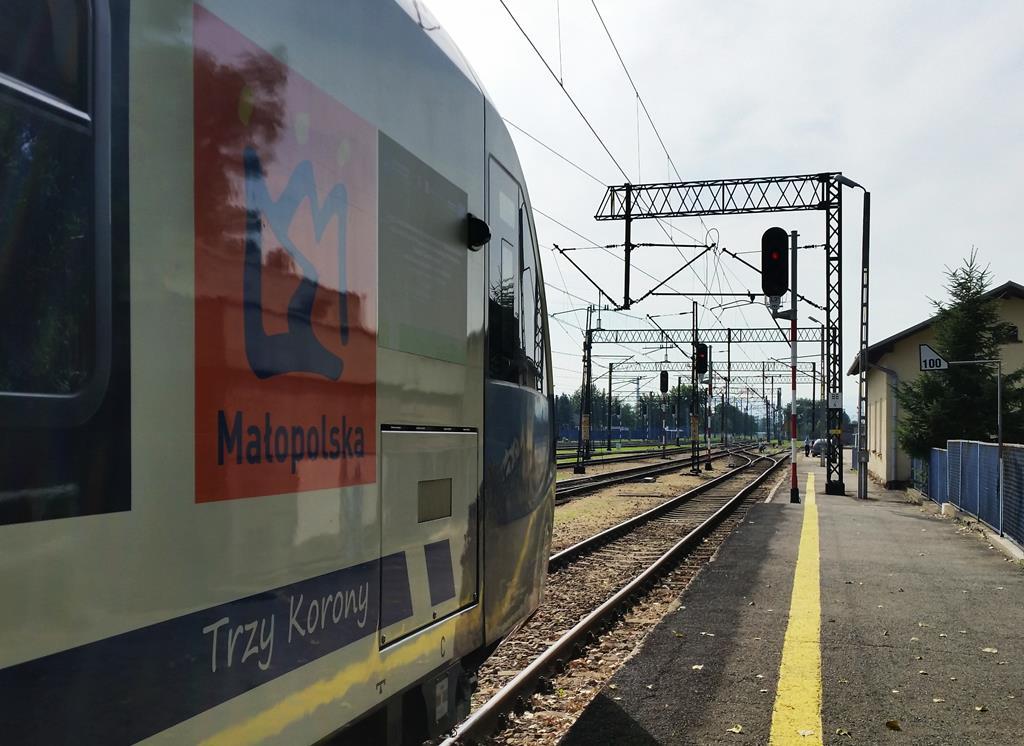 Impuls Newag Małopolskie stacja Nowy Sącz