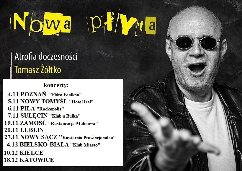 Tomasz Żółtko koncert Nowy Sącz