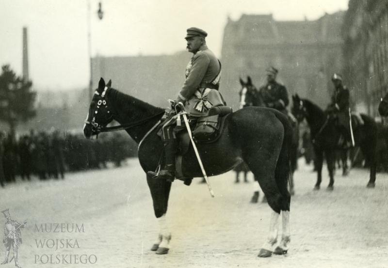 Józef Piłsudski Kasztanka