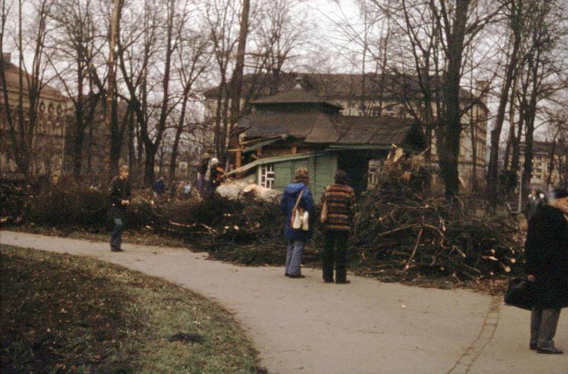 huragan w Nowym Sączu 1976