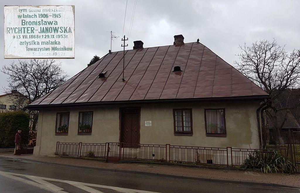 Bronisława Rychter-Janowska dom w Starym Sączu