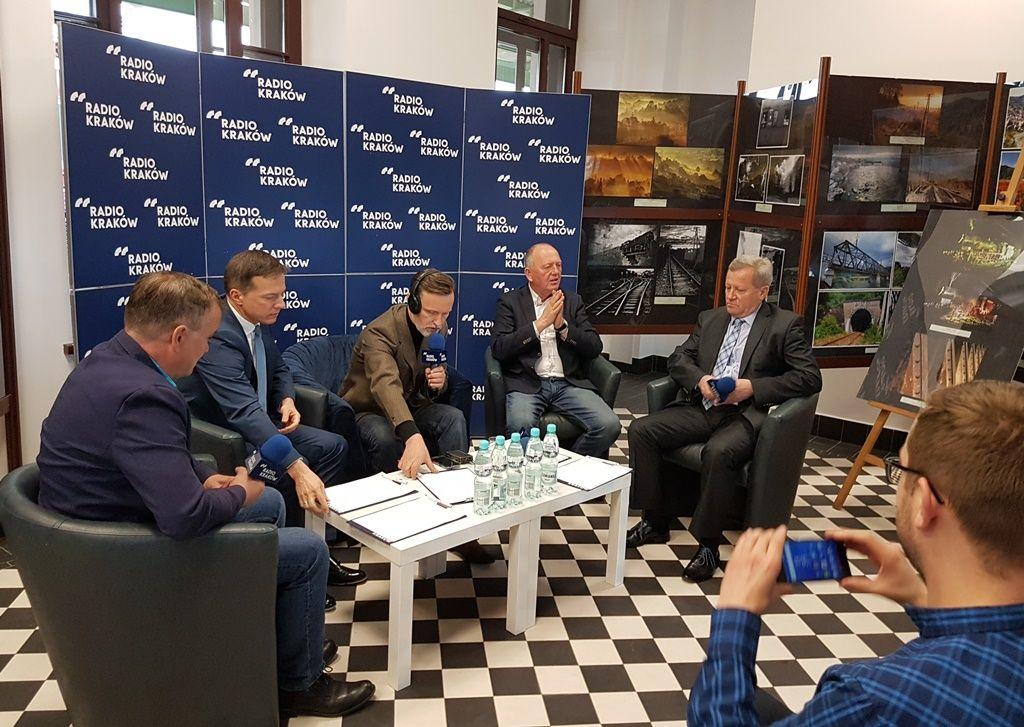 szynobus dla Nowego Sącza - debata Radia Kraków