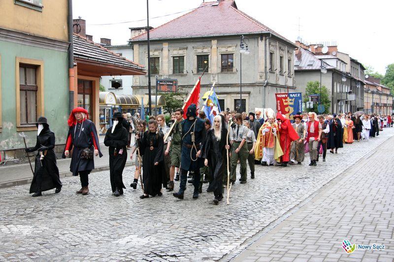 orszak Jana Długosza Nowy Sącz