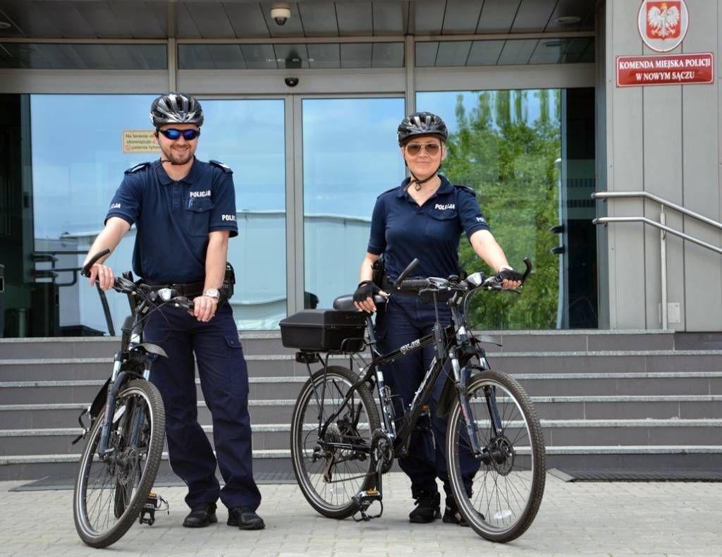 nowy Sącz patrole rowerowe