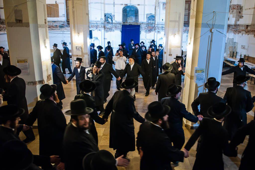 Tora w sądeckiej synagodze