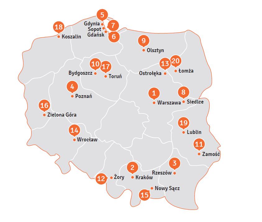 ranking Europolis Nowy Sącz