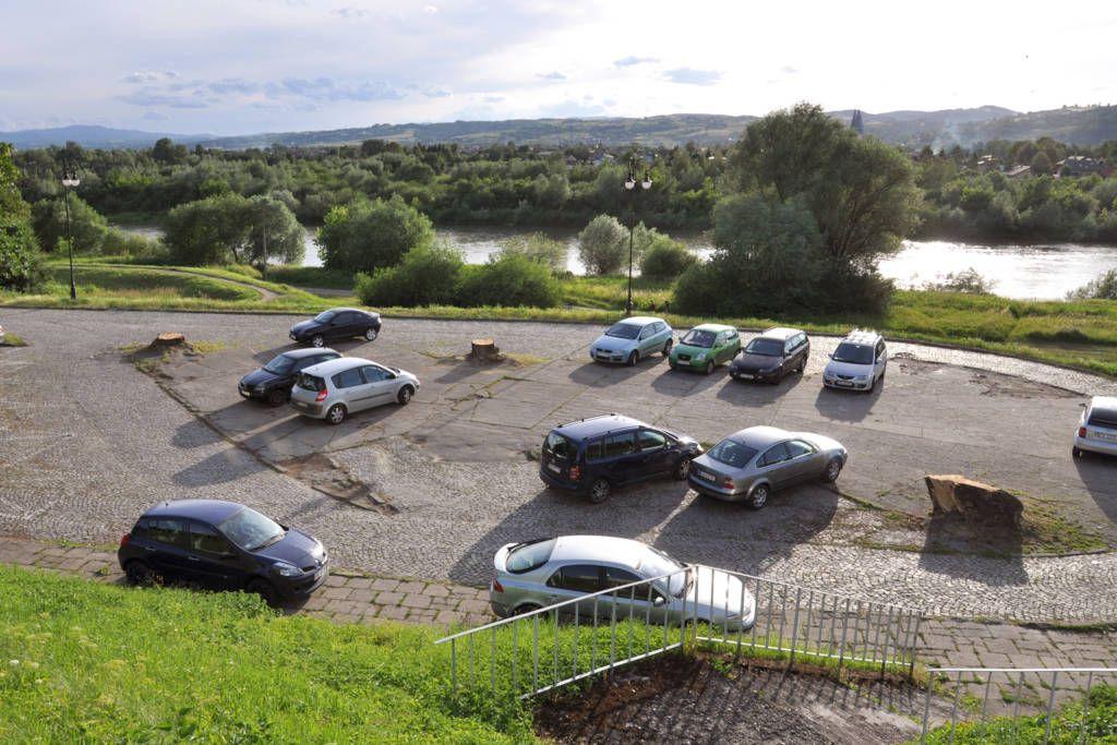 parking pod Panoramą Nowy Sącz