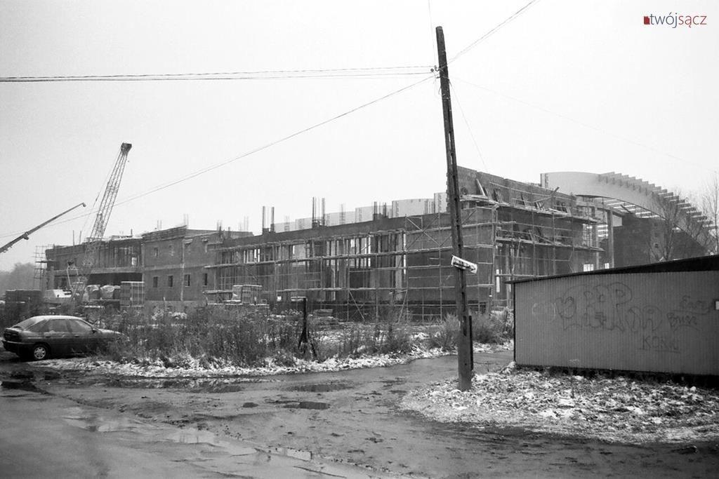 budowa krytej pływalni w Nowym Sączu 1997