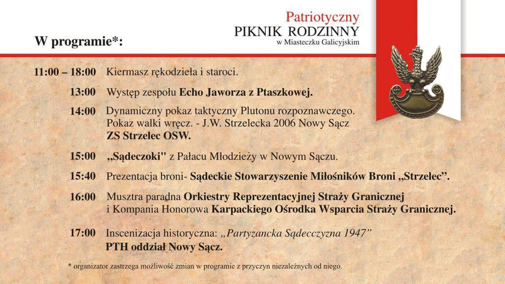 Patriotyczny Piknik Nowy Sącz