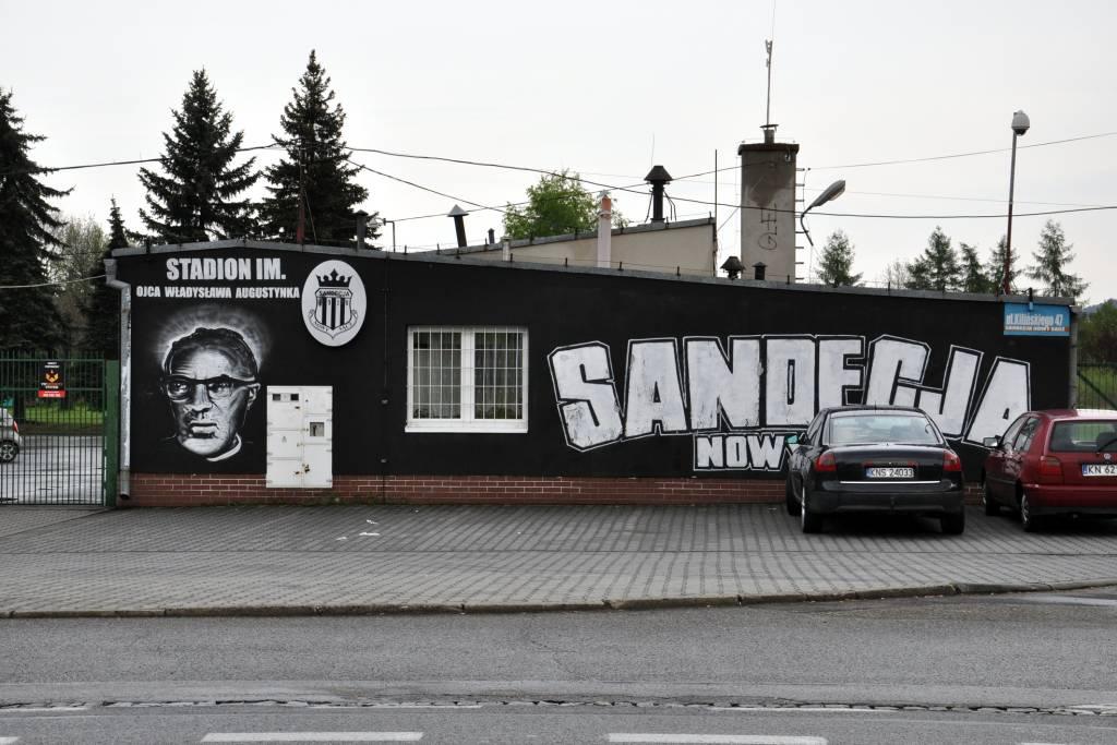 nowy stadion Sandecji
