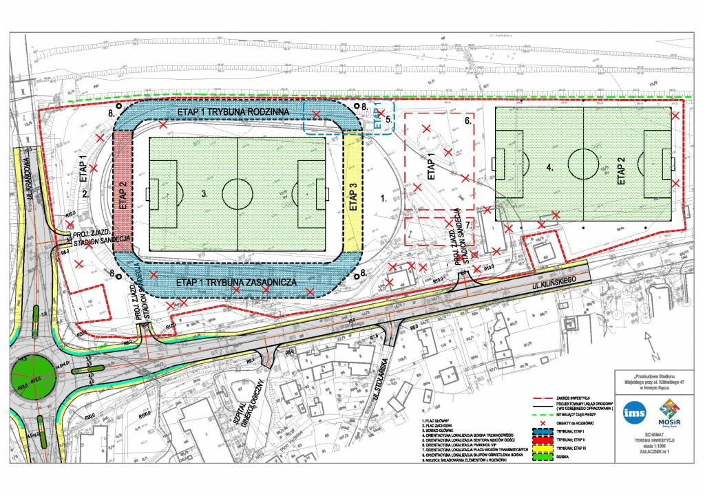Sandecja nowy stadion