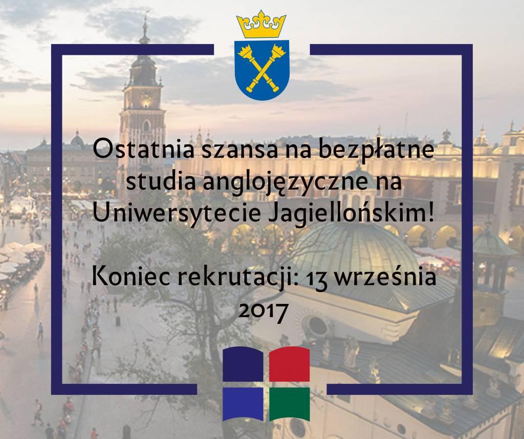 bezpłatne studia anglojęzyczne UJ Studies in Central and Eastern Europe