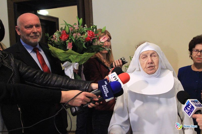 siostra Dominika 107 urodziny Nowy Sącz