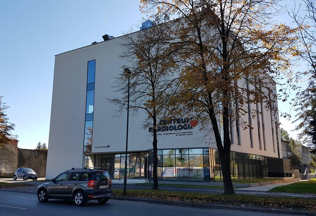 Centrum Kardiologii Intercard Nowy Sącz ul. Kilińskiego