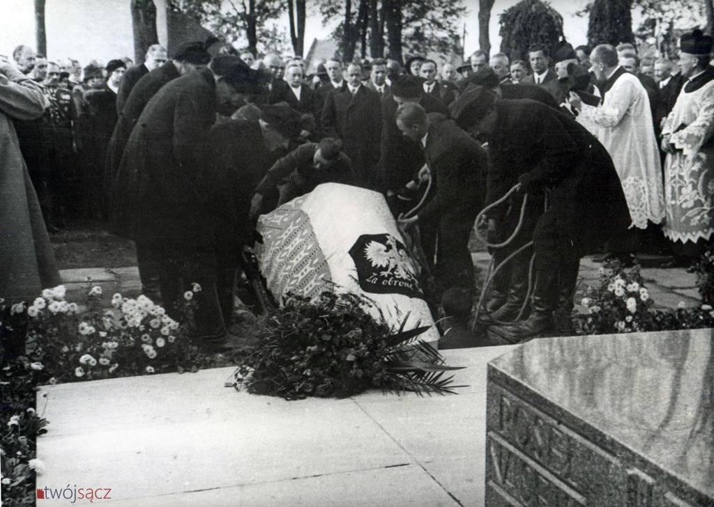 Ponowny pogrzeb Bronisława Pierackiego w Nowym Sączu, 1935