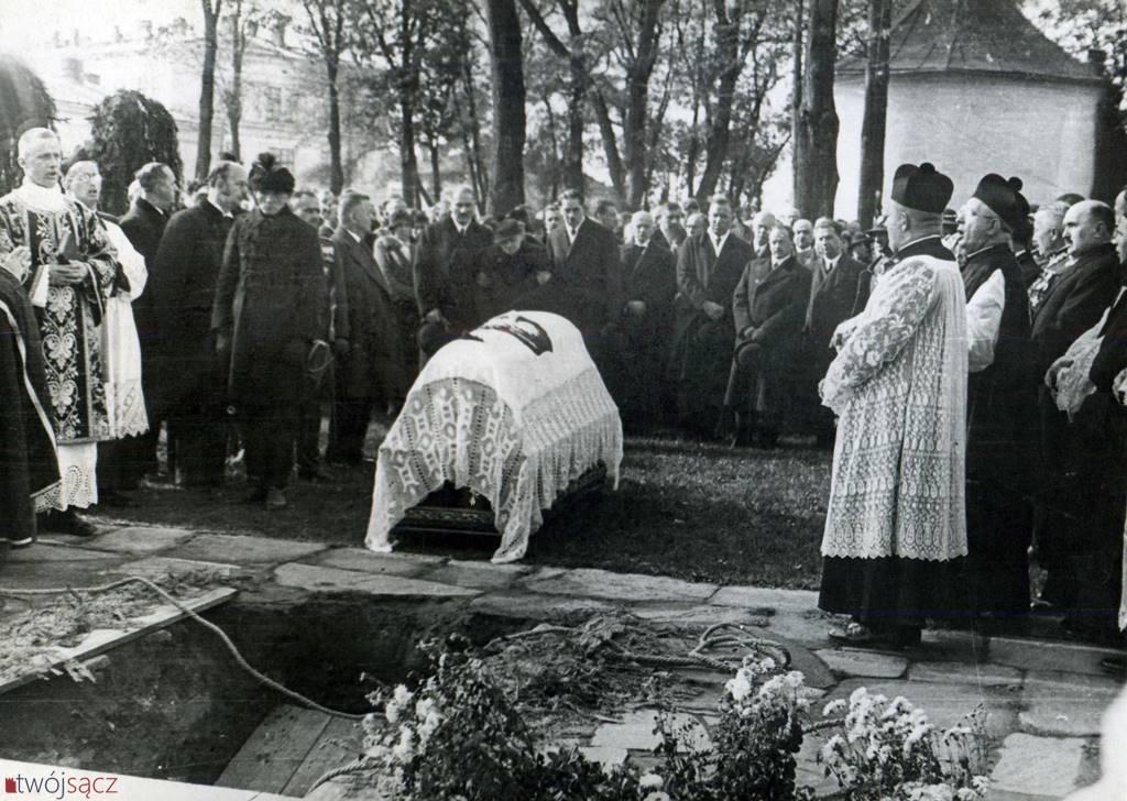Drugi pogrzeb Bronisława Pierackiego w Nowym Sączu, 1935