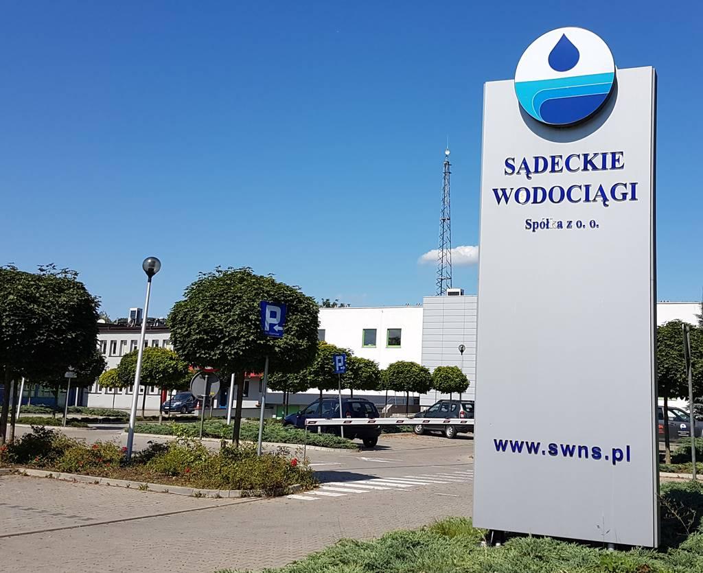 Sadeckie Wodociągi prezes Janusz Adamek