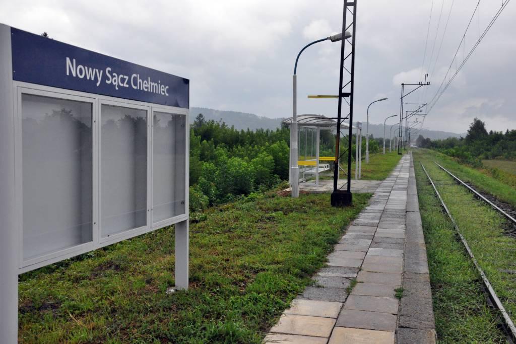 jest planowany rozkład jazdy szynobusu Nowy Sącz Chełmiec - NS Miasto