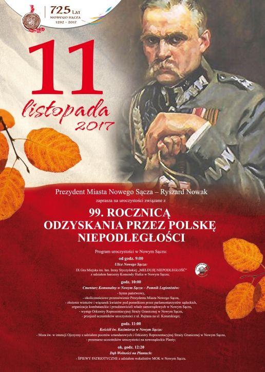 11 listopada 2017 Nowy Sącz