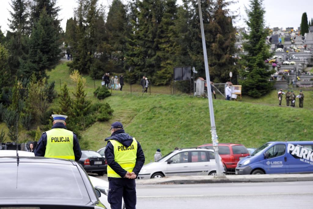 podsumowanie policyjnej akcji Znicz Nowy Sącz 2017