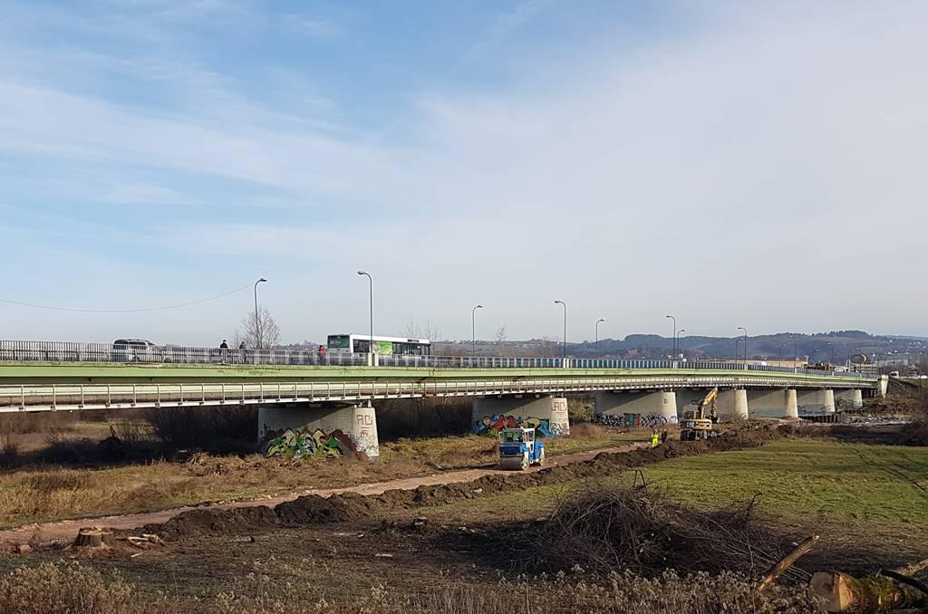 harmonogram prac budowy mostu w Nowym Sączu