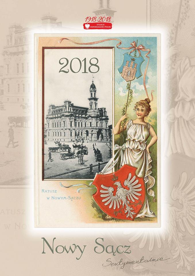 Nowy Sącz sentymentalnie kalendarz 2018
