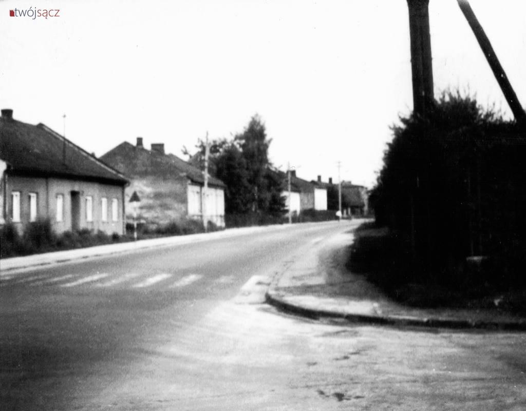 Nowy Sącz ulica Nawojowska 1975