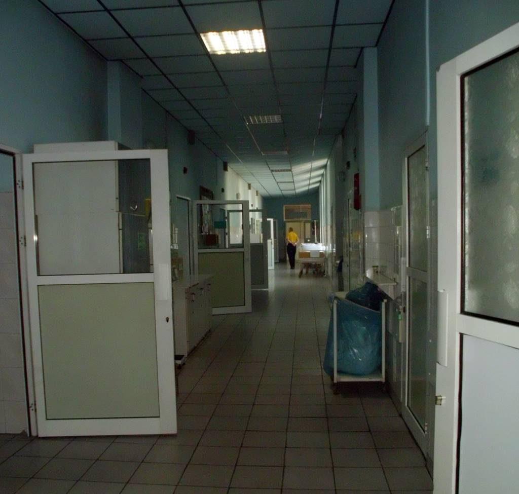 oddział chorób wewnętrznych szpitala w Nowym Sączu