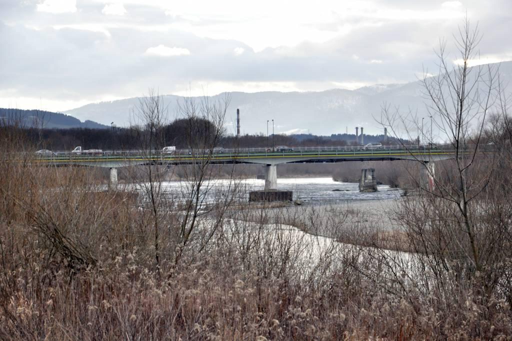 kobieta skoczyła z mostu heleńskiego