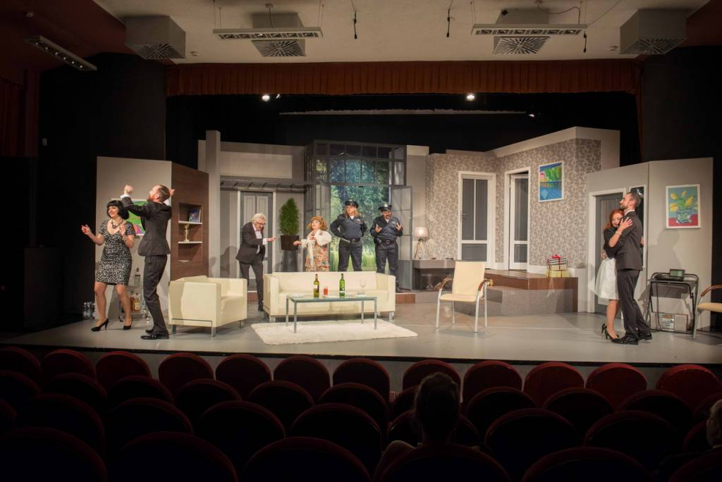 spektakl Teatru Robotniczego w Nowym Sączu