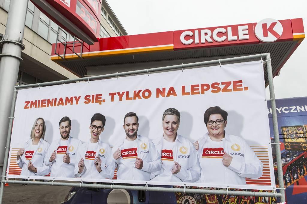 Statoil w Nowym Sączu zmienia się w Circle K