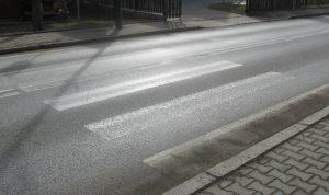 wypadki na przejściach