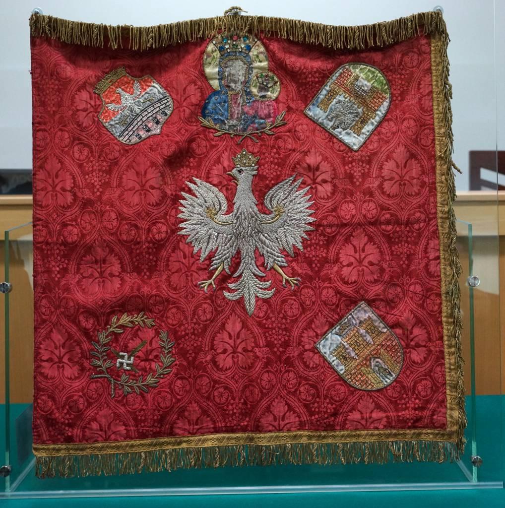 sztandar Zarządu Powiatowego I-go Batalionu Związku Rezerwistów Rzeczypospolitej