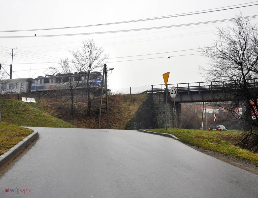 Nowy Sącz wiadukt kolejowy ul. Węgierska