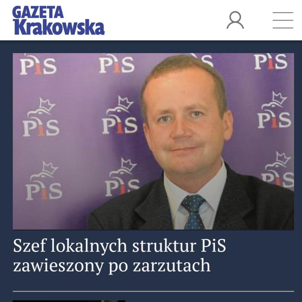 Leszek Langer zawieszony
