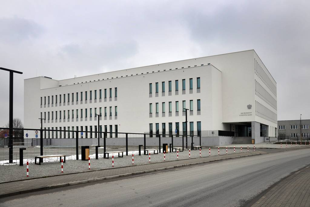 Sąd Rejonowy w Nowym Sączu ul. Smolika