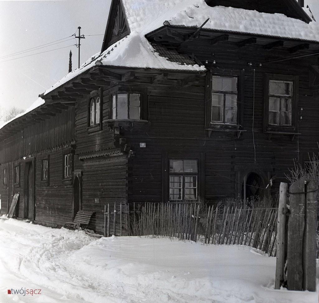 willa przy ul. Wincentego Pola w Nowym Sączu, lata 50.