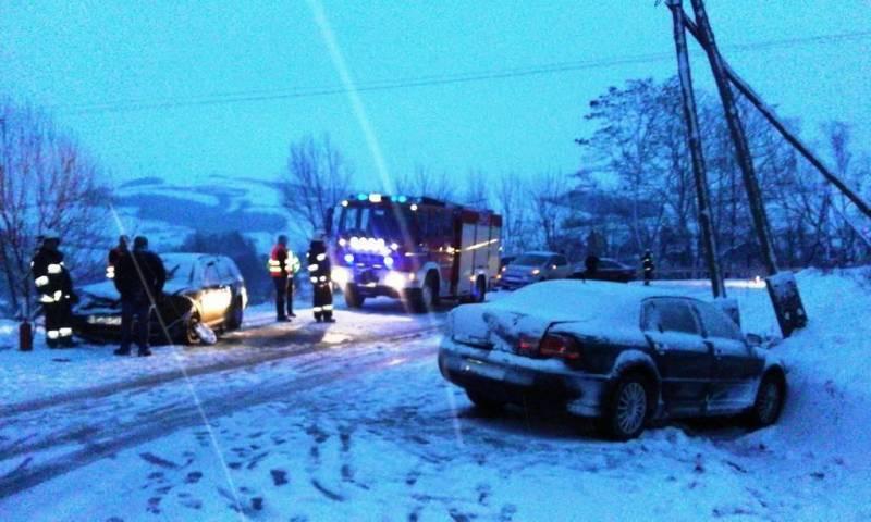 policja radzi jak zimą bezpiecznie dotrzec do celu