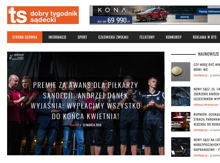 Andrzej Danek obiecuje wypłatę reszty premii dla piłkarzy Sandecji