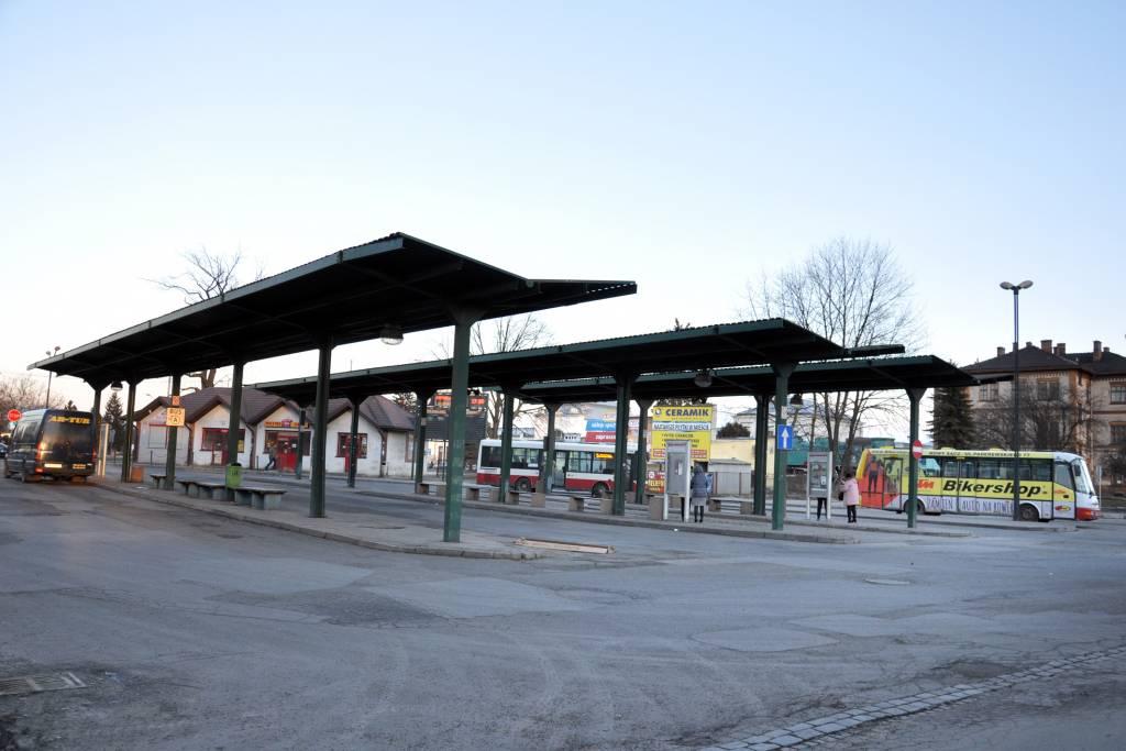dworzec MPK Nowy Sącz