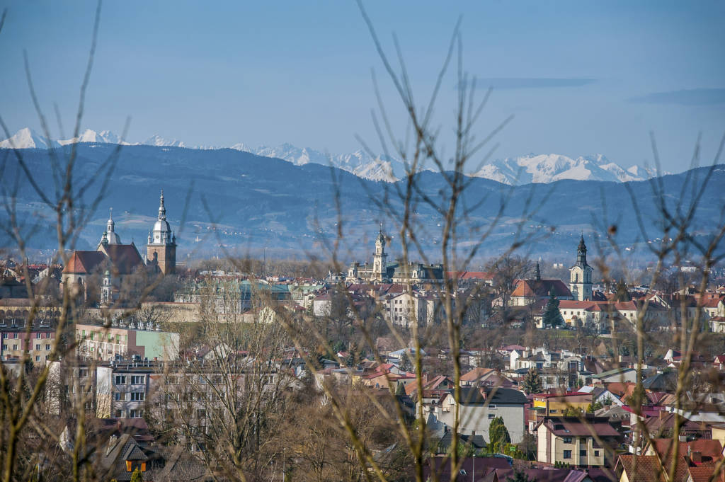 panorama Nowego Sącza 2018