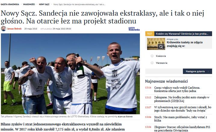 """Stadion zaprojektuje Pracownia Projektowa """"ATS 999"""" Tomasza Siedlanowskiego z Białej Podlaskiej"""