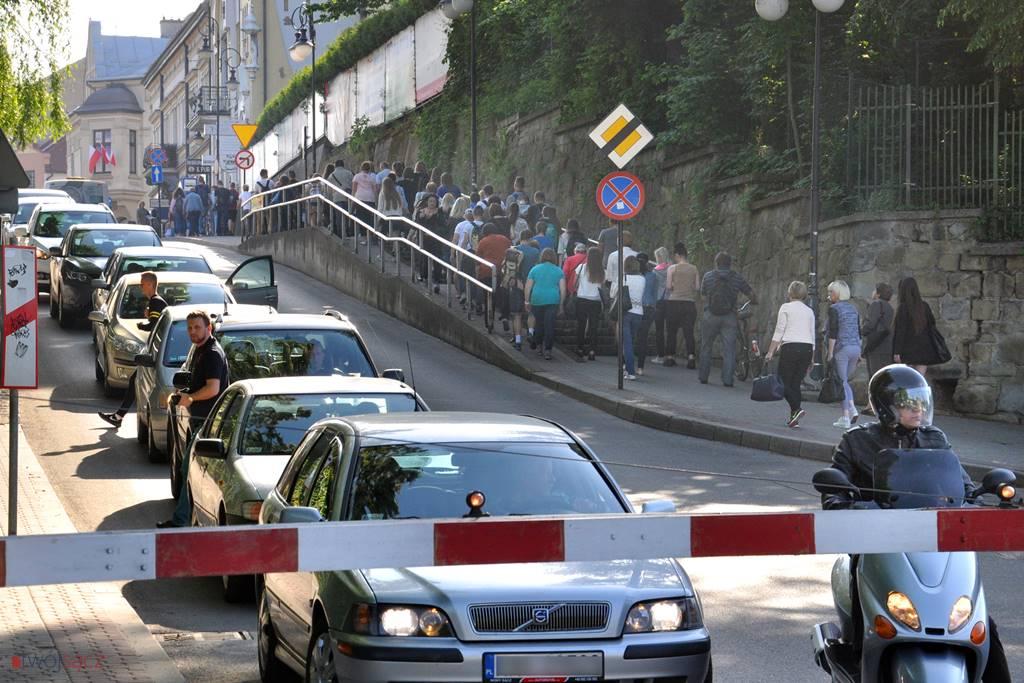 przejazd kolejowy ul. Kościuszki w Nowym Sączu