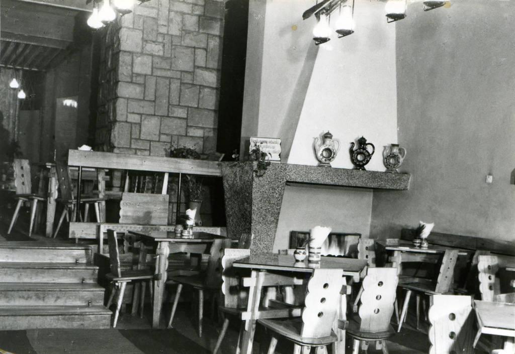 kawiarnia Ratuszowa Nowy Sącz lata 70.