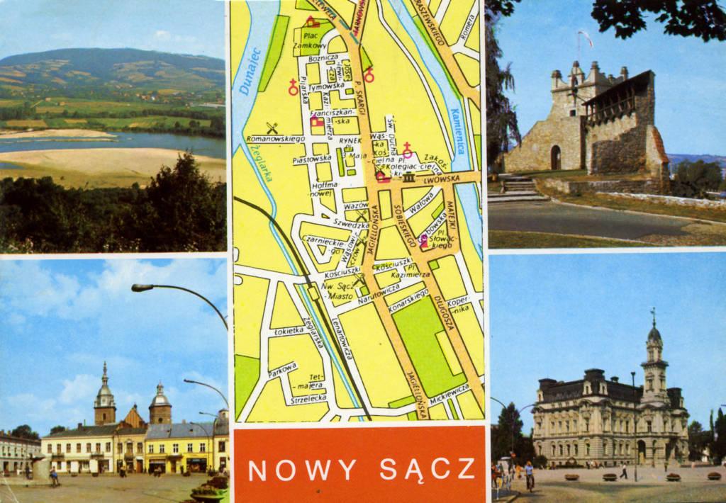 pocztówki Nowy Sącz