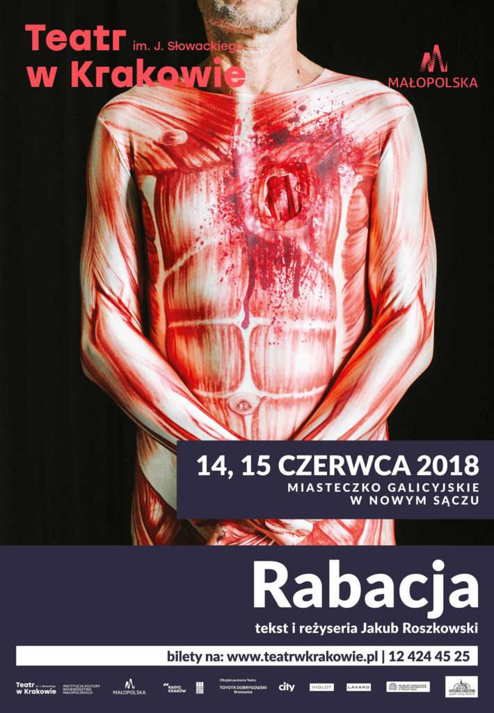 Rabacja Teatr Słowackiego w Nowym Sączu Miasteczko Gaicyjskie