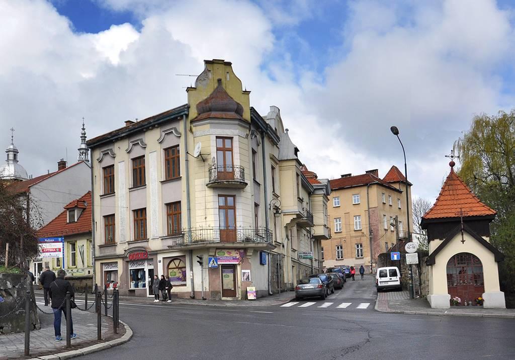 Nowy Sącz ulica Zakościelna zmienia się w Świętej Małgorzaty