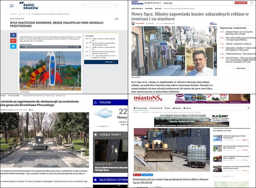 Do 27 lipca m.in. z Rynku, ul. Jagiellońskiej, al. Wolności i Batorego mają zniknąć reklamy