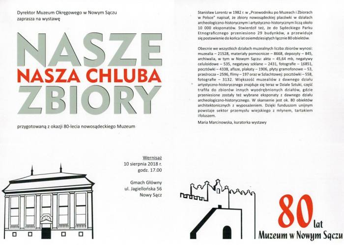 80-lecie nowosądeckiego Muzeum