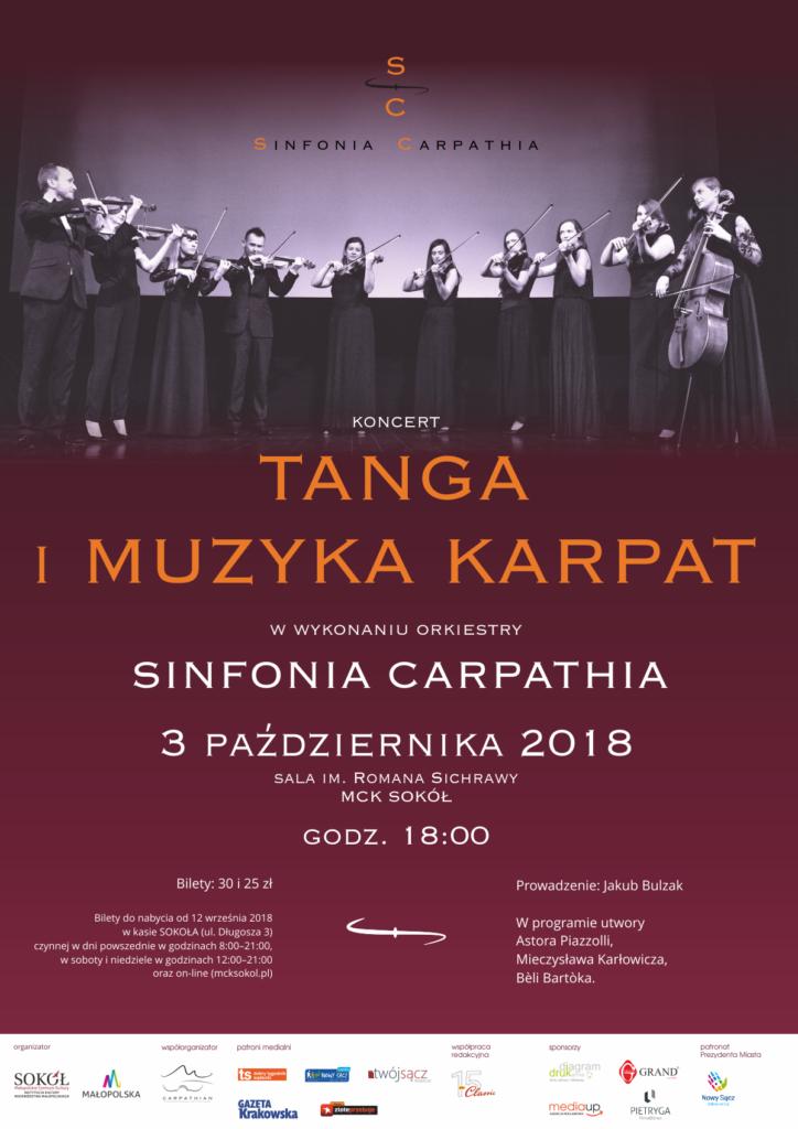 koncert Sinfonia Carpathia w Sokole